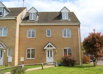 Thumbnail 4 bed semi-detached house for sale in Snowdrop Close, King's Lynn