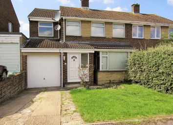 Thumbnail 5 bedroom semi-detached house for sale in Wylye Close, Swindon