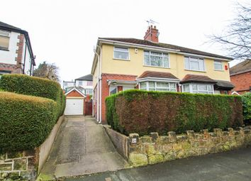 Thumbnail 3 bed semi-detached house for sale in Bank Hall Road, Stoke-On-Trent