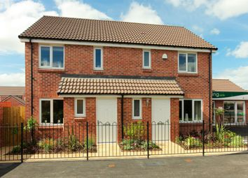 "Thumbnail 3 bed semi-detached house for sale in ""The Hanbury "" at Clarks Close, Yeovil"