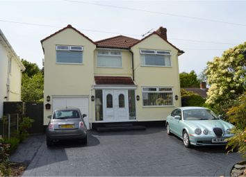 Thumbnail 4 bedroom detached house for sale in Irby Road, Heswall