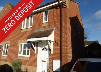 Thumbnail 3 bedroom property to rent in Blackthorn Road, Attleborough