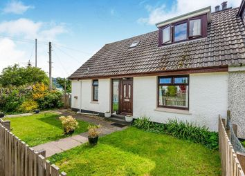 Thumbnail 3 bedroom semi-detached house for sale in Murray Square, Lochcarron, Strathcarron