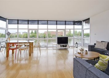 Thumbnail 2 bed flat to rent in Thames Reach, 80 Rainville Road, London