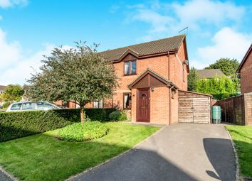 Thumbnail 2 bedroom semi-detached house for sale in Ryon Close, Andover