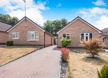 Thumbnail 2 bed detached bungalow for sale in Fern Close, Thurnby, Leicester