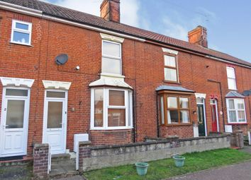 Thumbnail 2 bedroom terraced house for sale in Grove Road, North Walsham