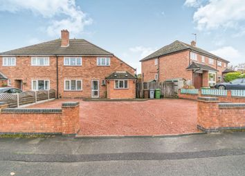 Thumbnail 4 bed semi-detached house for sale in Neville Road, Shirley, Solihull