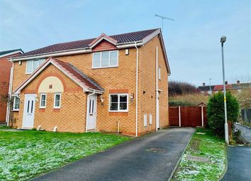 Thumbnail 2 bedroom semi-detached house to rent in Whitland Way, Wrexham