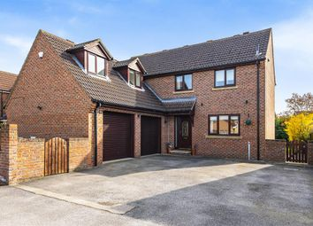 Thumbnail 5 bed detached house for sale in Brigg Farm Court, Camblesforth, Selby