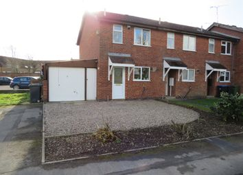 Thumbnail 2 bed town house for sale in Richardson Close, Broughton Astley, Leicester