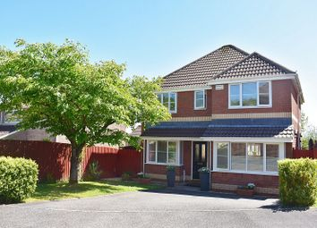 Thumbnail 4 bed detached house for sale in Cae Derwen, Litchard, Bridgend.