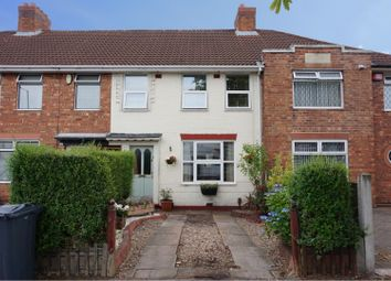 Thumbnail 3 bed terraced house for sale in Hawthorn Road, Birmingham