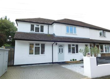 Thumbnail 3 bed semi-detached house for sale in Brooklands Road, Thames Ditton