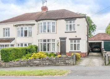 Thumbnail 4 bed semi-detached house for sale in Whirlow Court Road, Sheffield