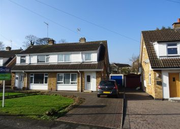 Thumbnail 3 bed semi-detached house for sale in Farndale, Whitwick, Leicestershire