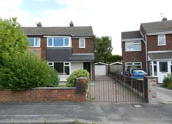 Thumbnail 3 bed semi-detached house to rent in Severn Road, Culcheth, Warrington