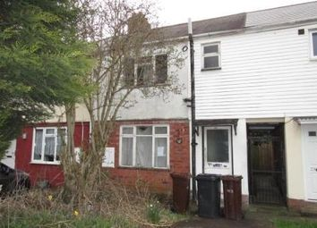 Thumbnail 3 bedroom terraced house for sale in Pond Grove, Wolverhampton, West Midlands
