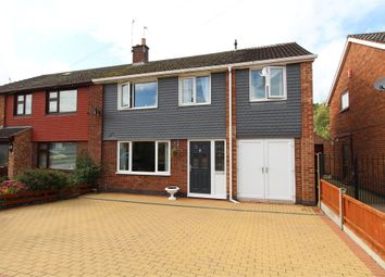 Thumbnail 4 bed semi-detached house for sale in Manor Road, Cosby, Leicester