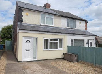 Thumbnail 2 bed semi-detached house for sale in King Street, Mansfield Woodhouse, Mansfield