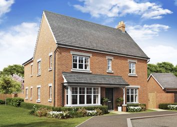 "Thumbnail 4 bed detached house for sale in ""Alnwick"" at Greenkeepers Road, Great Denham, Bedford"