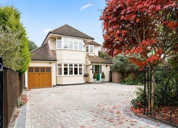 Thumbnail 4 bed detached house to rent in Mill Road, Marlow