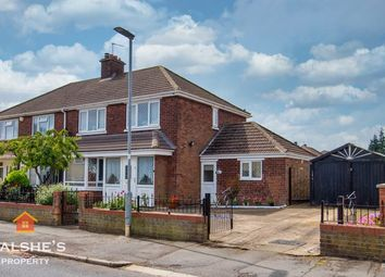 Thumbnail 3 bed semi-detached house for sale in Brocklesby Road, Scunthorpe