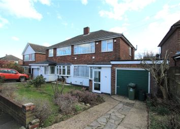 Thumbnail 3 bed semi-detached house for sale in Park Mead, Sidcup, Kent