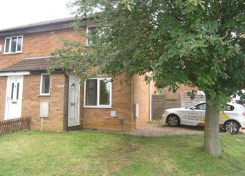 Thumbnail 2 bed terraced house to rent in Verwood Close, Northampton