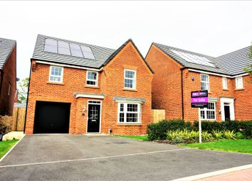 Thumbnail 4 bed detached house for sale in Mercia Grove, Leyland