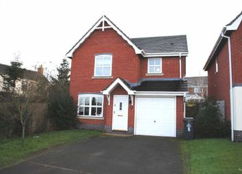 Thumbnail 3 bed detached house to rent in Priory Court, Market Drayton, Shropshire