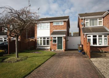 Thumbnail 3 bed detached house for sale in Long Furrow, East Goscote, Leicester