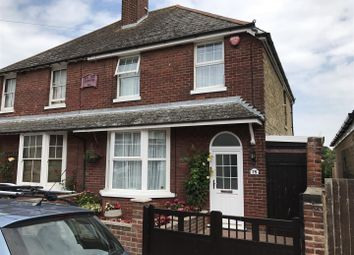 Thumbnail 3 bed semi-detached house for sale in Belmont Road, Westgate-On-Sea