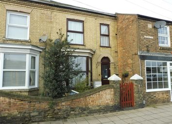 Thumbnail 3 bed terraced house for sale in Broad Street, Whittlesey, Peterborough