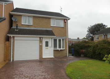 Thumbnail 3 bed detached house for sale in Warkworth Drive, Pegswood, Morpeth