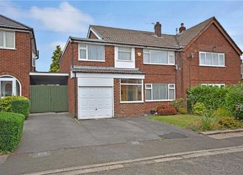 Thumbnail 5 bed semi-detached house for sale in Baguley Drive, Sunnybank, Bury