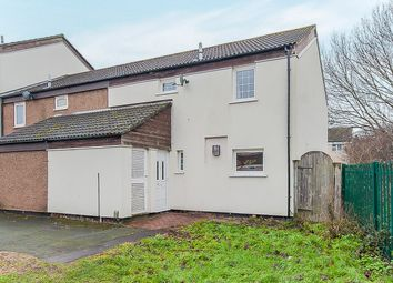 Thumbnail 4 bedroom end terrace house for sale in Chadburn, Paston, Peterborough