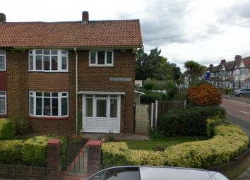 Thumbnail 3 bedroom semi-detached house to rent in Abercorn Gardens, Chadwell Heath, Romford