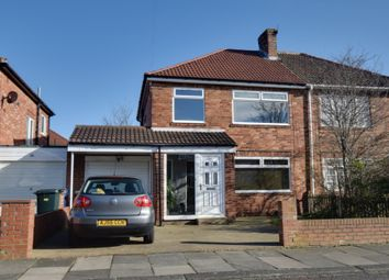 Thumbnail 3 bed semi-detached house for sale in Patterdale Gardens, Newcastle Upon Tyne, Tyne And Wear