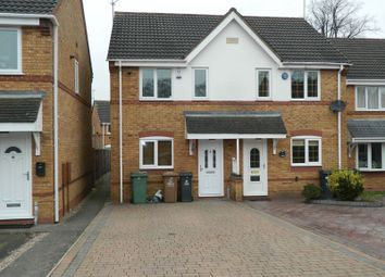 Thumbnail 2 bed semi-detached house for sale in Hawkswood Drive, Wednesbury