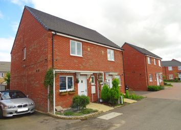 Thumbnail 2 bedroom semi-detached house for sale in Pandora Drive, Cardea, Peterborough