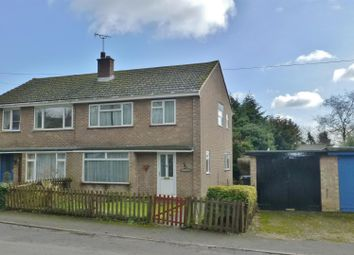 Thumbnail 3 bed semi-detached house for sale in Owston Road, Knossington, Oakham