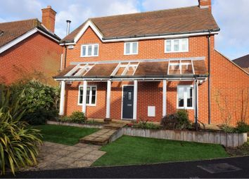 Thumbnail 4 bed detached house for sale in Hillside Mews, Sarisbury Green
