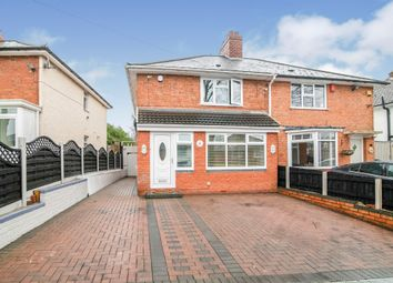 Thumbnail 3 bed semi-detached house for sale in Greenoak Crescent, Birmingham