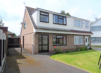 Thumbnail 3 bed semi-detached house to rent in Acacia Avenue, Woolston, Warrington