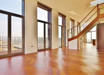 Thumbnail 3 bed flat for sale in Capital Building, Embassy Gardens, Nine Elms, London