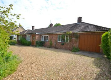 Thumbnail 3 bed detached bungalow for sale in Main Street, Upton, Huntingdon, Cambridgeshire
