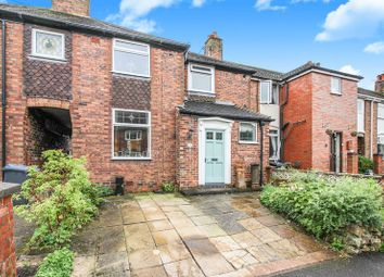 Thumbnail 3 bed town house for sale in Nab Hill Avenue, Leek, Staffordshire