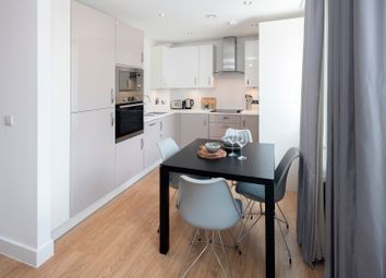 Thumbnail 1 bed flat for sale in Great Charta Close, Egham
