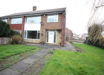 Thumbnail 3 bedroom semi-detached house for sale in Manston Gardens, Crossgates, Leeds